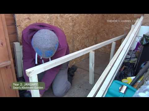 Sean's Allotment Garden #51: All about wood | January 2014