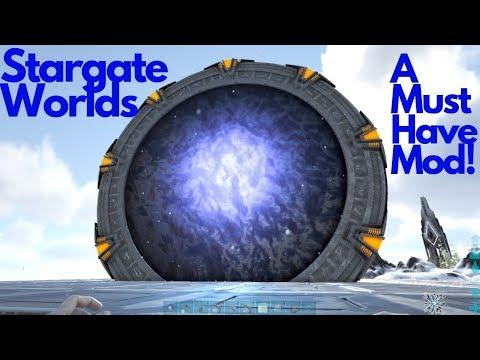 Ark : Survival Evolved - Stargate Worlds! AMAZING!