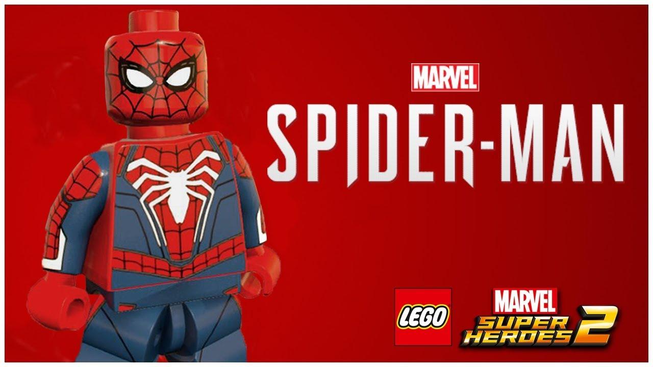 SPIDER-MAN PS4 - LEGO Marvel Superheroes 2 MOD