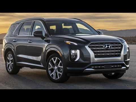 2020 Hyundai Palisade new SUV with third row seating