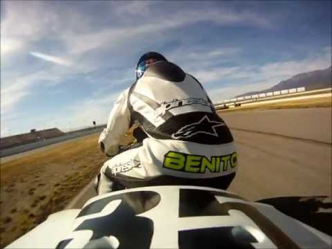 Benny Solis: 1 Lap around Auto Club Speedway