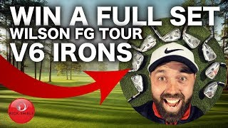 WIN A SET OF WILSON FG TOUR V6 IRONS! SUBSCRIBER GIVEAWAY