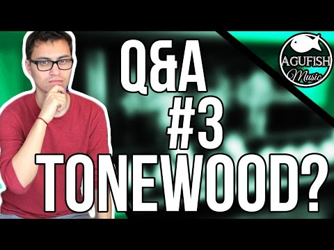 Q&A #3 || Tonewood, Cleartone Strings, And Inspirational Guitarists??