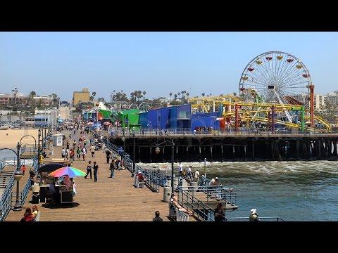Zen Walk America Part 7 of 7 Santa Monica