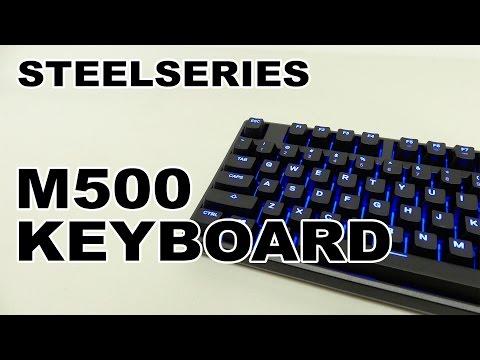 SteelSeries Apex M500 Gaming Mechanical Keyboard Review