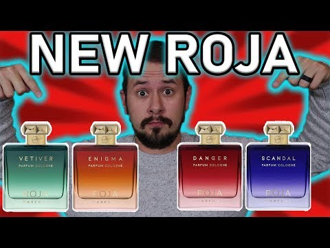 NEW ROJA PARFUM COLOGNES SCANDAL VETIVER ENIGMA & DANGER