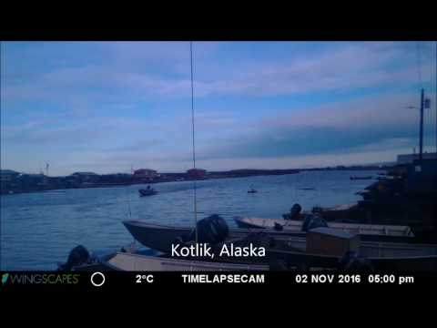 Kotlik, Alaska - Time Lapse 9.27.16 to 11.3.16