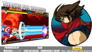 [HD]Marvel vs Capcom - Strider Hiryu Combos[ストライダー飛竜コンボ]