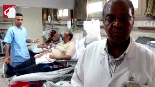 مرضى الغسيل الكلوي.. ''حياة متعلقة بورقة'' -(صور وفيديو)
