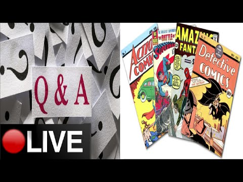 Q&A #2 + Comic Book Collection: 300 Subscribers Special (LIVE)