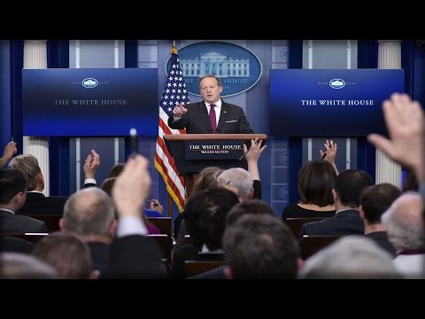Press Briefing with Press Secretary Sean Spicer 4-17-2017