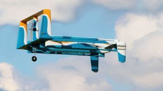 Amazon Reveals First Prime Air Drone Delivery