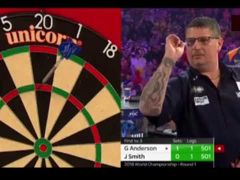 Gary Anderson averages 132 in a Set! - 2018 PDC World Championship