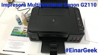 Impresora Multifuncional Canon Pixma G2110