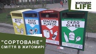 Відходи з роздільних баків покидають на сміттєзвалищі