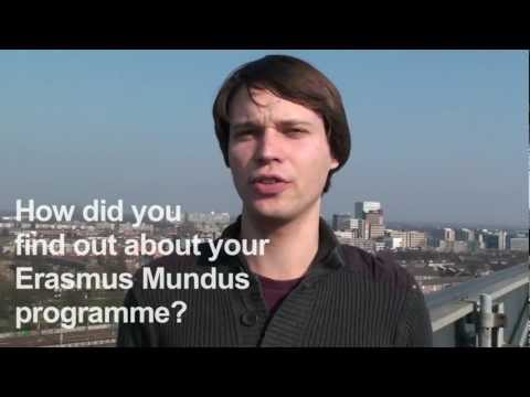 Erasmus Mundus students talk about their Erasmus Mundus programme