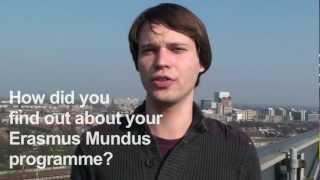 Erasmus Mundus students talk about their Erasmus Mundus programme