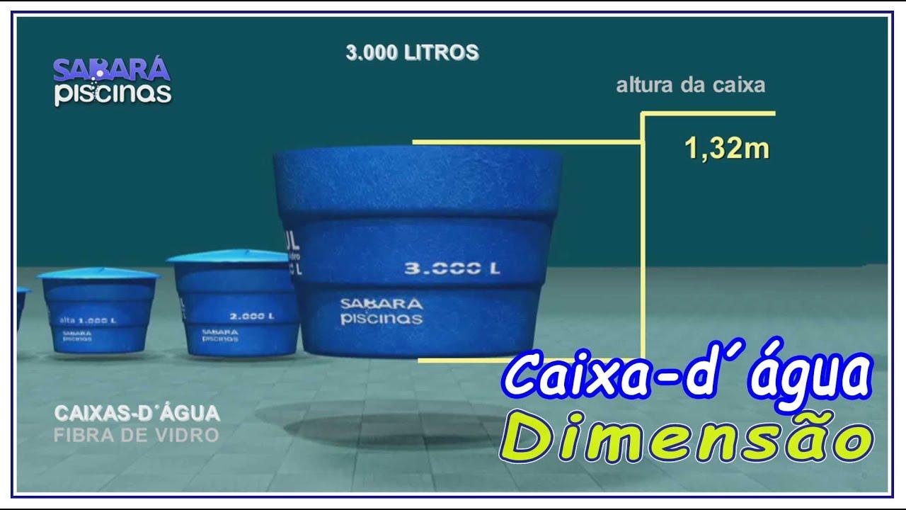 Caixas D Agua 3000 Litros Em Fibra De Vidro Dimensoes E Peso