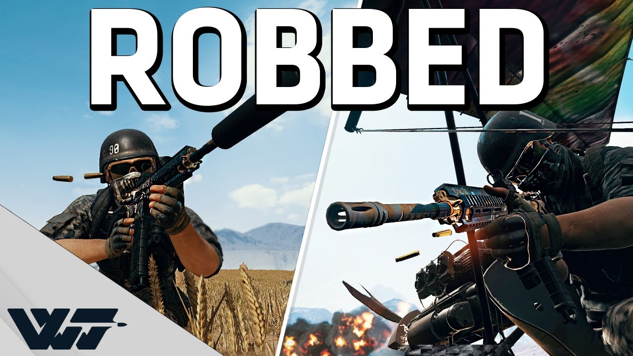 Download ROBBED!! - Why does it work like that? - PUBG