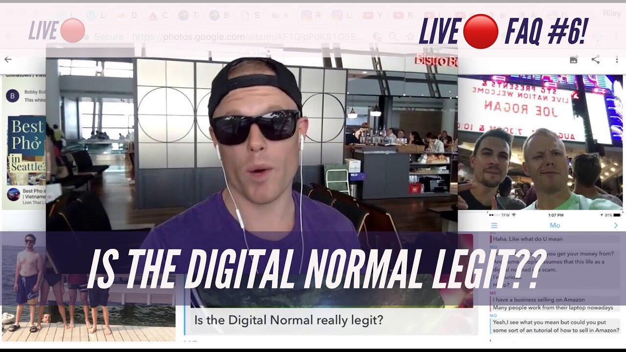 Your Top Digital Nomad Questions!??Is the Travel Lifestyle LEGIT or a Scam?? — FAQ Podcast LIVE✈️