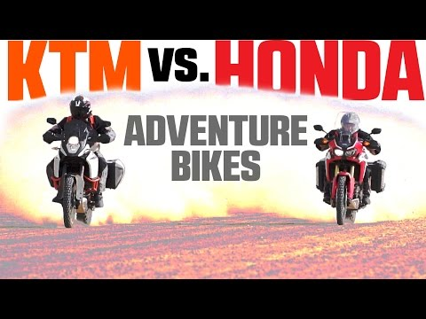 2017 Honda Africa Twin vs. KTM 1090 Adventure R