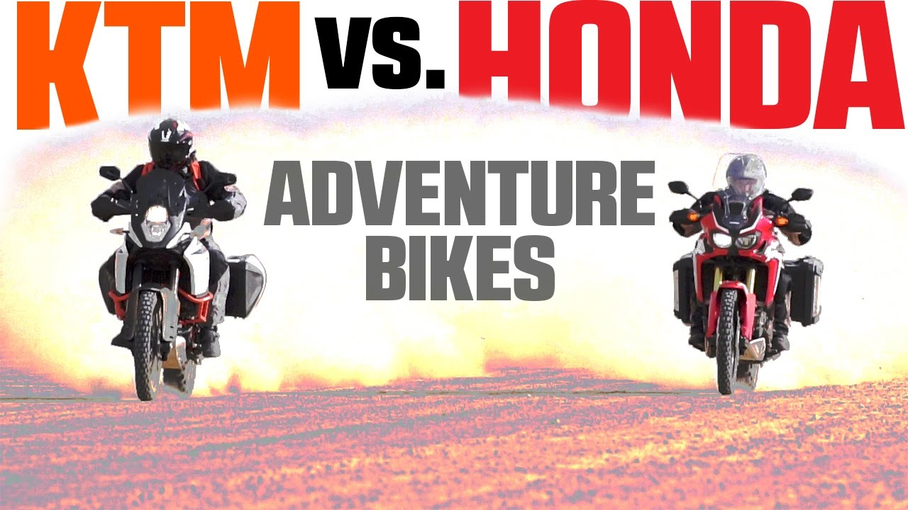 2017 Honda CRF1000L Africa Twin vs  KTM 1090 Adventure R