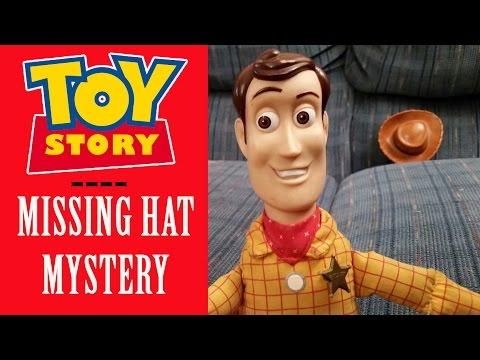 TOY STORY Disney: Woody - Missing Hat Mystery - Parody Video - Attack Cat, Pixar & Walt Disney