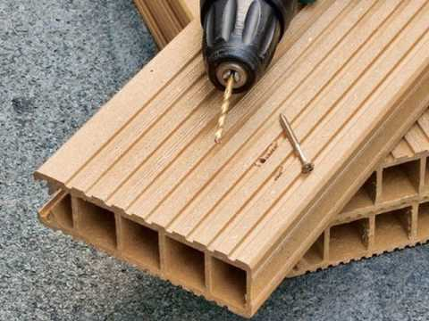 Install hollow composite decking new zealand youtube for Composite deck material reviews