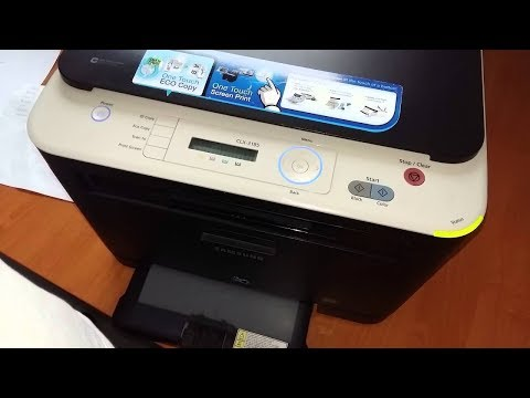 SAMSUNG CLX 3185W صيانة شاملة وإصلاح جودة الطباعة