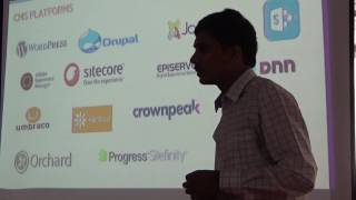 Sitecore: Web Content Management with .NET - Gopikrishna Gujjula at DotNet Bangalore Meetup #10