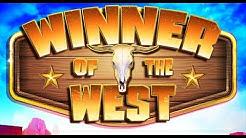 Massive Winning! LIVE PLAY on Winner of the West with Bonus!