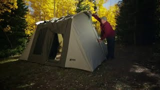 B est family camping tents - Kodiak Canvas Flex-Bow Deluxe 8-Person Tent