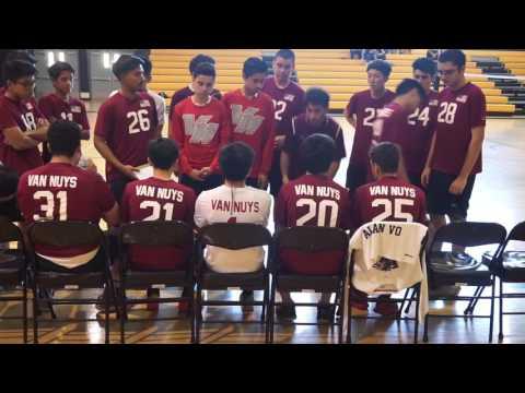 Boys Volleyball: Van Nuys vs Panorama JV (2017)
