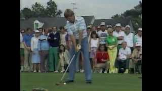 Crenshaw plays the 10th Full Coverage 84 Masters