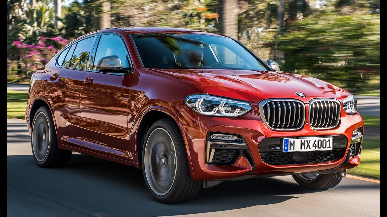 2019 Bmw X4 M40d Interior Exterior And Drive Youtube
