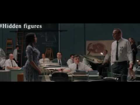 Hidden Figures-''There's no bathroom for me here...''
