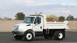 2004 International 4300 5-6 Yard Dump Truck