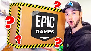 Epic sent me a *MYSTERY* BOX! (What's Inside?)