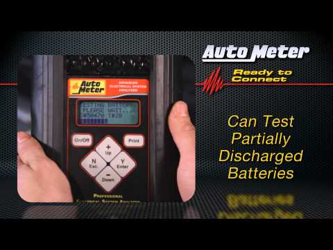 AutoMeter Testers And Your Shop