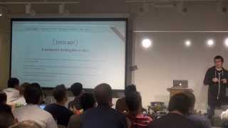 Ember.js NYC July 2014 Part 2 - Steve Klabnik on JSON API and Edward Faulkner on Liquid Fire