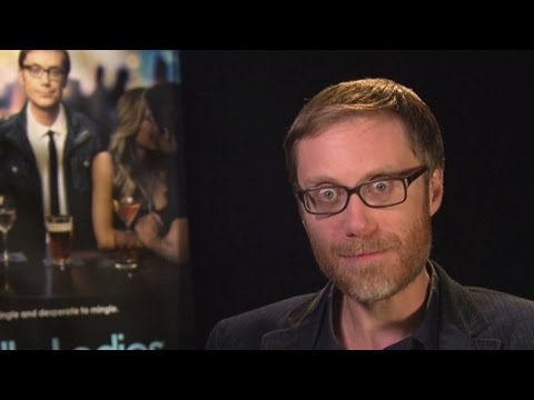 When actor Stephen Merchant walked into a glass window