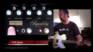 Empress Effects : Vintage Modified Superdelay