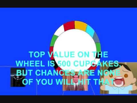 Daytime Wheel of Cupcakes