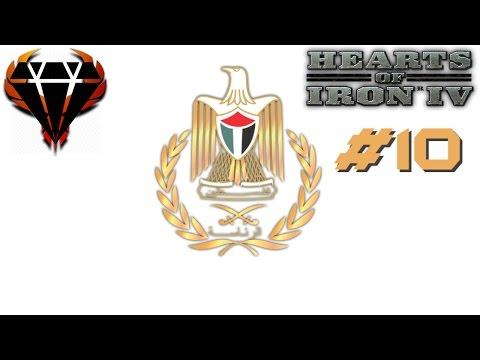 Hearts of Iron 4 - Modern Day Mod 2017 - Hamas Palestine - Iran rape! #10