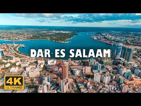 Dar es Salaam, Tanzania 🇹🇿 | 4K Drone Footage