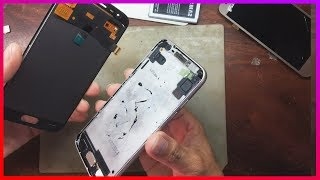 SM-J250F Disassembly, Galaxy J2 Pro LCD Display Replacement