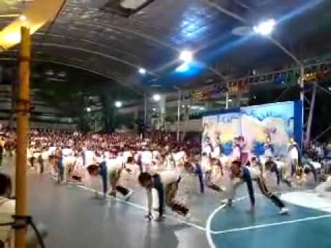 SPC Nursing Angels Pep Squad Informal Cheering 2011 (Side View)