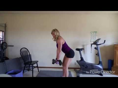 Boosting upper body dumbbell workout