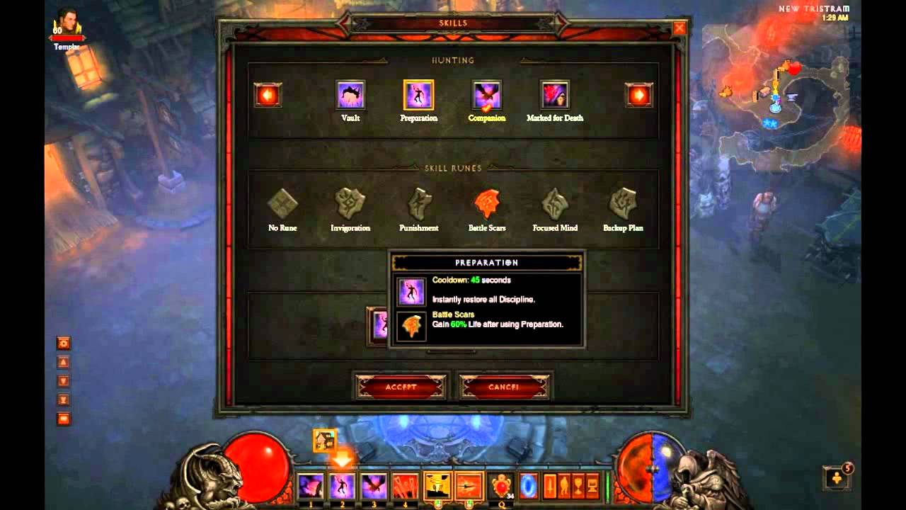 how to create demon hunter