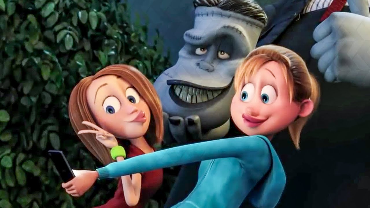 Download Selfie With Frankenstein Scene - HOTEL TRANSYLVANIA 2 (2015) Movie Clip